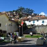 Kirchplatz in San Blas.