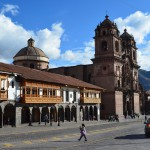 Prachtbauten am Plaza de Armas in Cusco.