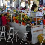Saftbar in Cusco: Leckere Säfte gibt es auf dem San Pedro Markt in Cusco.