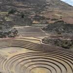 Terrassen von Moray im Heiligen Tal bei Cusco.