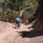 Mountainbike Tour im Heiligen Tal von Peru.