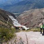Mountainbiken zu den Salzterrassen von Maras.