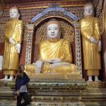 Ein Labyrinth aus Buddhas: Thanboddhay Pagode in Monywa.