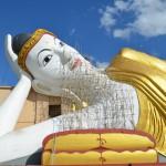 Der liegende Buddha in Monywa.