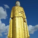Die größte Buddha-Statue von Myanmar.