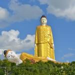 Geheimtipp Monywa: Zwei Riesenbuddhas im Nirgendwo.