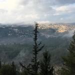 Blick auf Jerusalem vom Holocaust Denkmal Yad Vashem