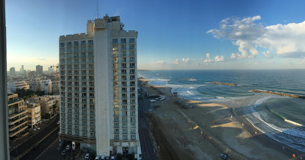 Strandpromenade von Tel Aviv