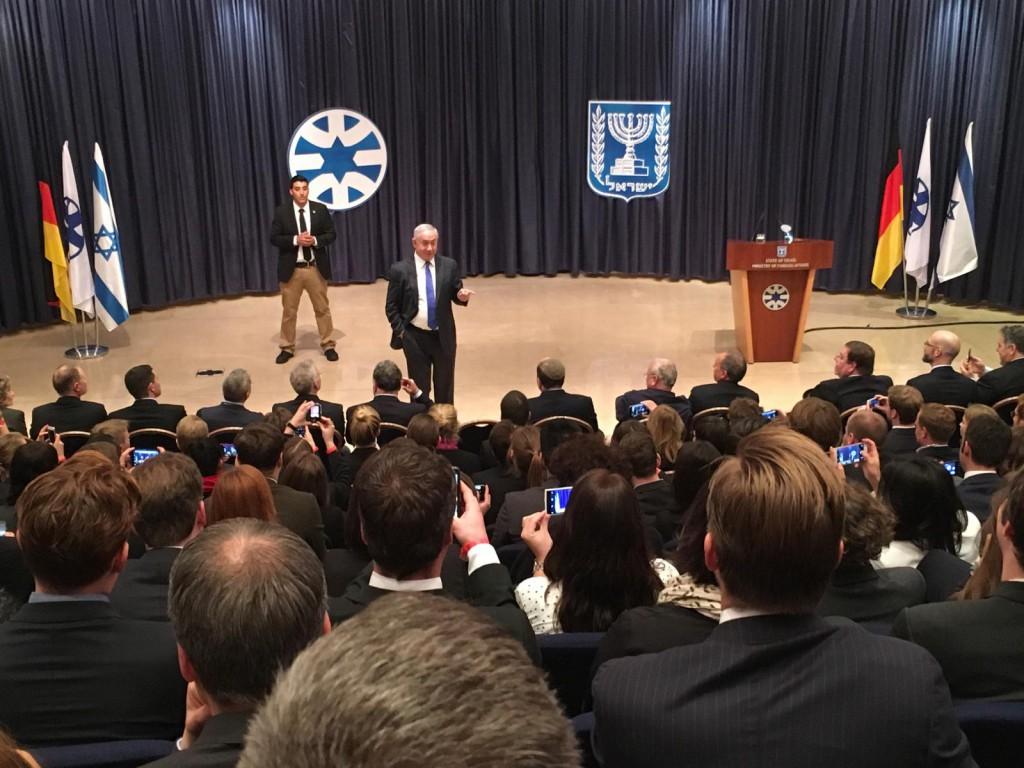 Im Gespräch mit Benjamin Netanyahu in Jerusalem