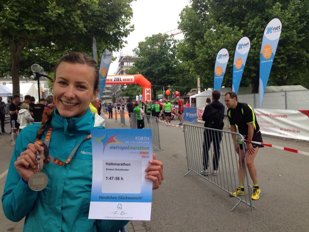 Mein erster Halbmarathon: Stolz trotz Optimierungspotential!
