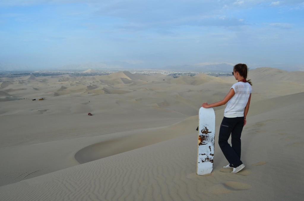 Sandboarding in der Wüste Ica: Absoluter Fun Faktor!