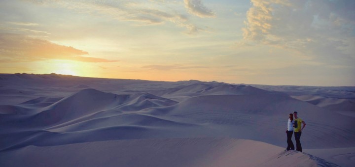 Wüstenfeeling in Peru
