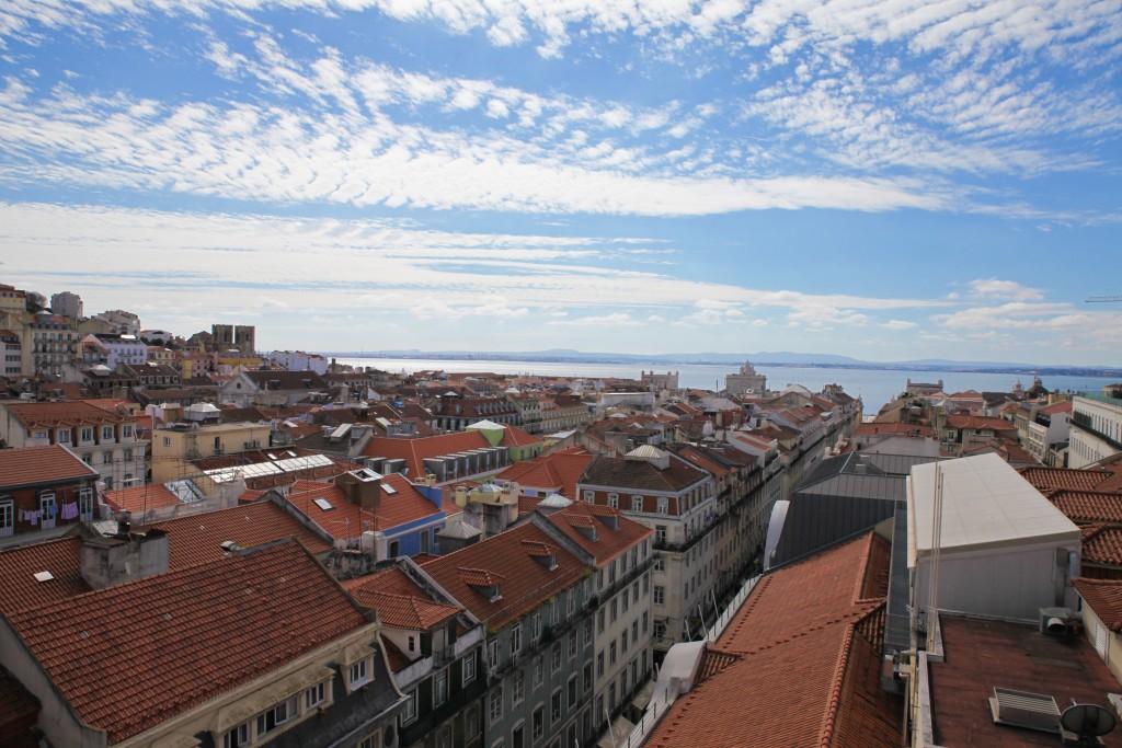 Einer von vielzähligen Ausblicken über Lissabon