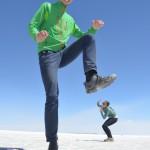 Salar de Uyuni: Nicht ohne Perspektiven Fotos!