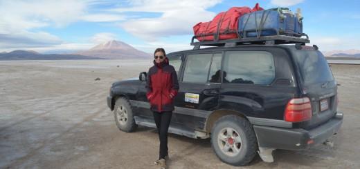 Mit dem Jeep zum Salar de Uyuni: Sitzfleisch und warme Kleidung benötigt!