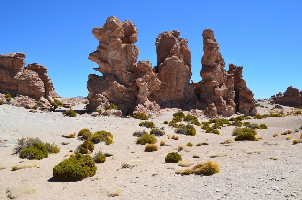 Tal der Steine in Bolivien: Mit etwas Fantasie erkennt man Gesichter!