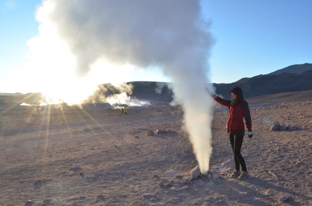 Vorsicht heiß! Geysire in Bolivien - eine willkommene Aufwärmung!