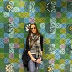 Farbenfrohe Metrostationen in Lissabon