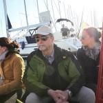 Mit dem Segelboot auf dem Tejo