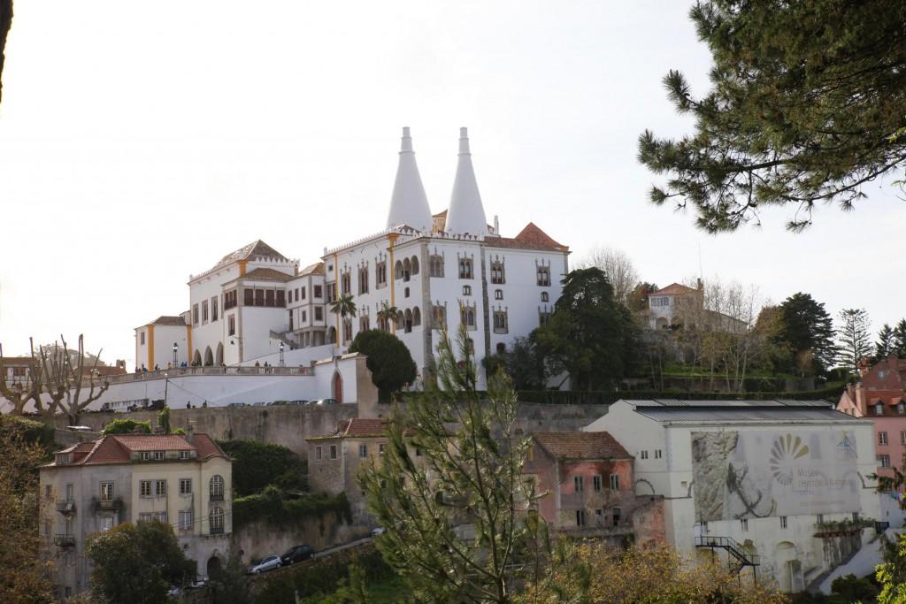 Eigenwillig: Der Nationalpalast von Sintra.
