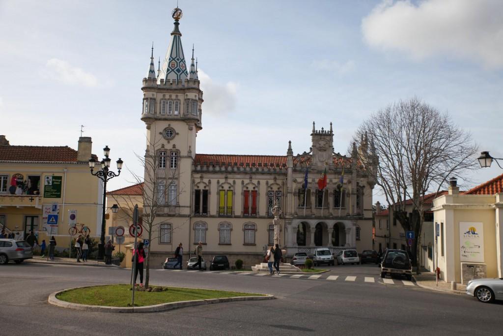 Altstadt von Sintra: Historische Gebäude und verwinkelte Gassen