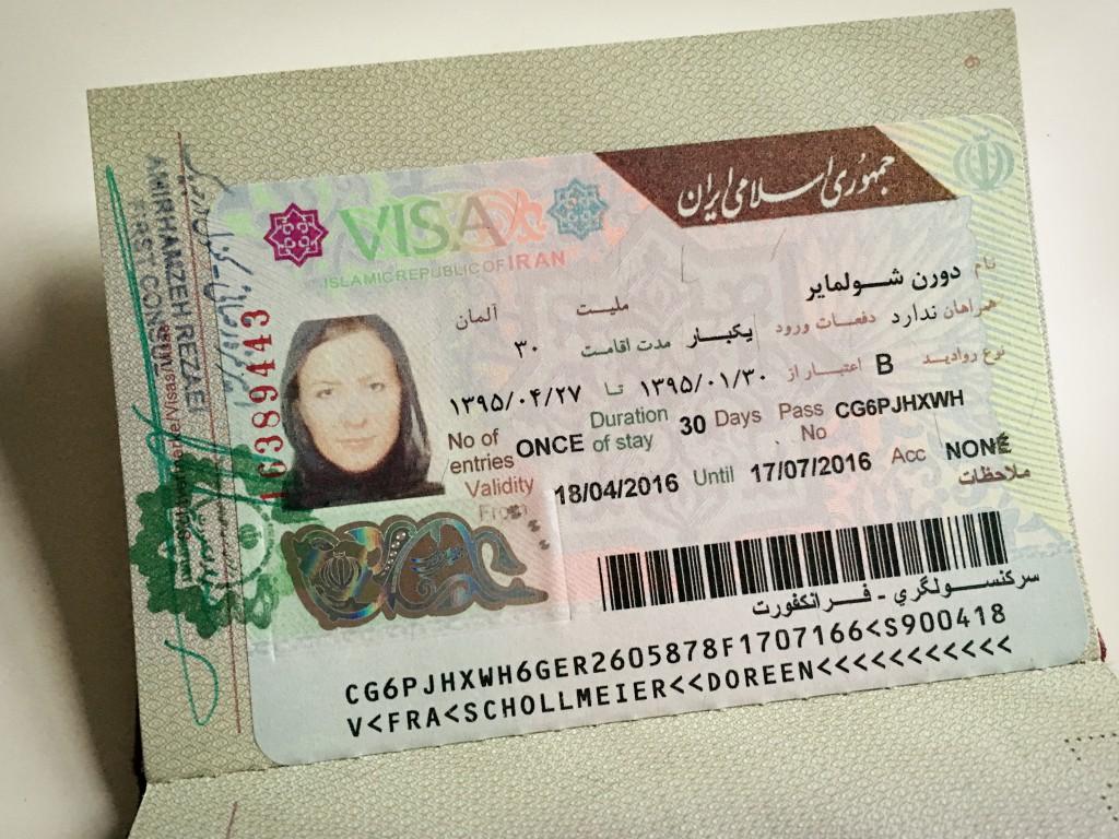 Iran Visum beantragen: Was lange währt...