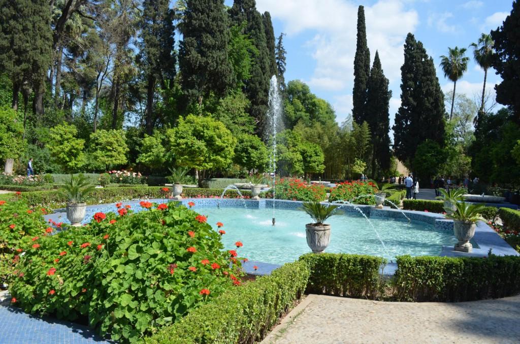 24 Stunden in Fés: Relaxen in den Sbil Bou Jeloud Gärten.