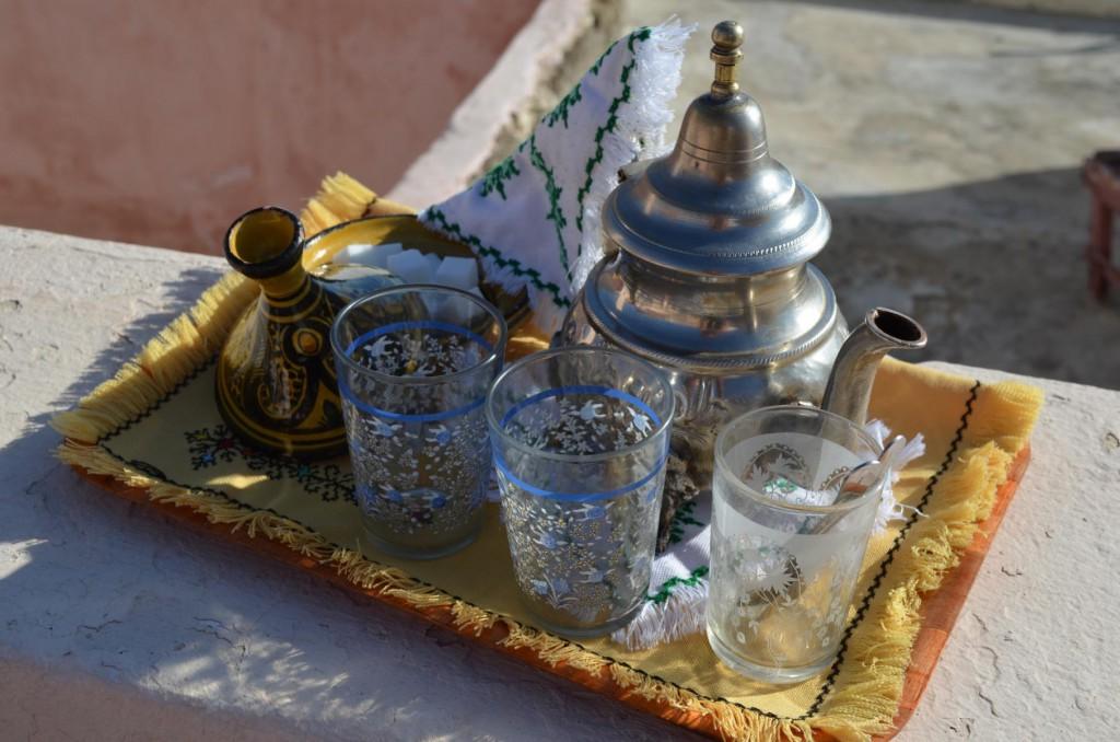 Roadtrip durch Marokko: Nicht ohne meinen Pfefferminztee.