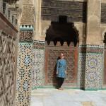 Mosaik Paradies: Medersa Bou Inania in Fés.