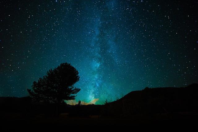 Zu schön zum Schlafen: Ein Blick in den Sternenhimmel