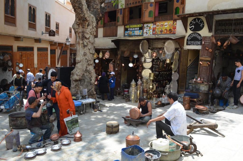 24 Stunden in Fés: Place as-Seffarina