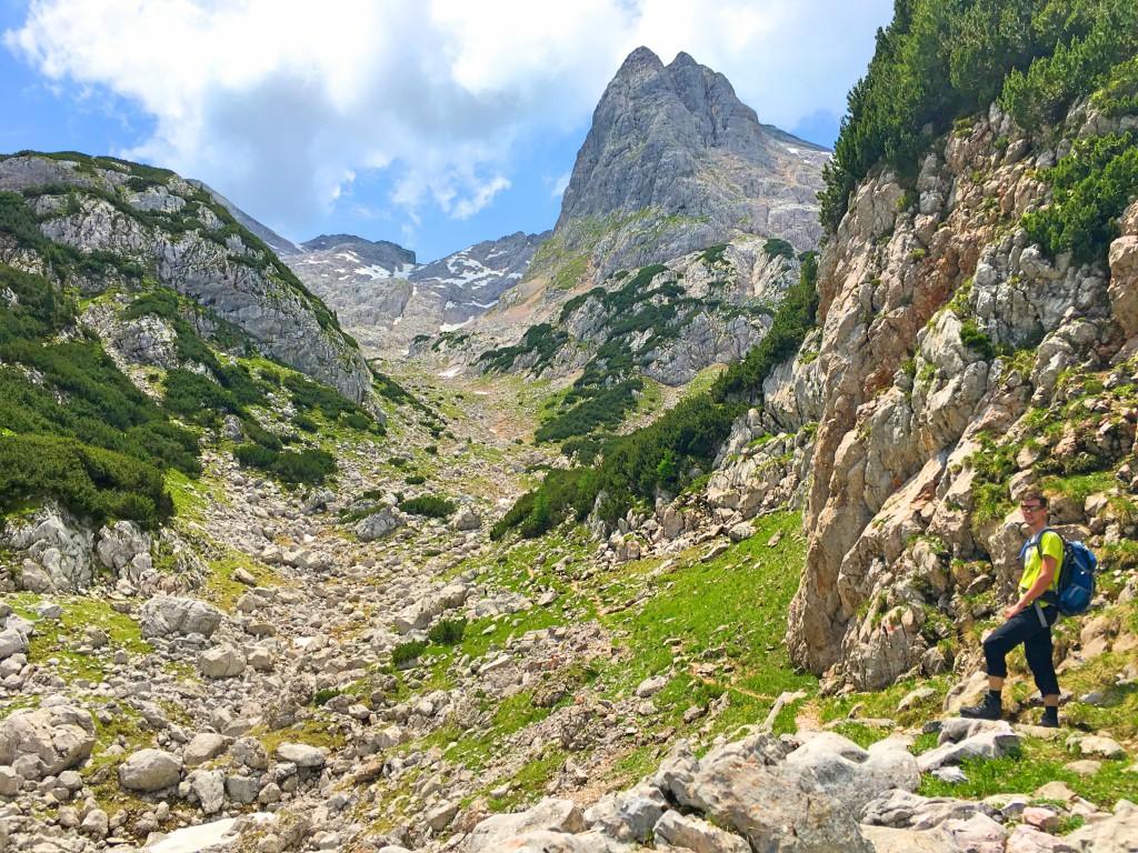 Bergwandern auf der Reiter Alpe