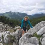 Ein Meer aus Steinen auf der Gipfelwanderung zum Edelweißlahnerkopf