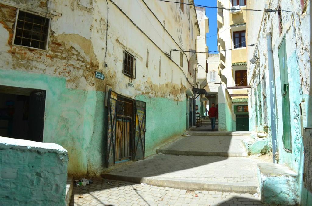 Farbenfrohe Gassen von Moulay Idriss