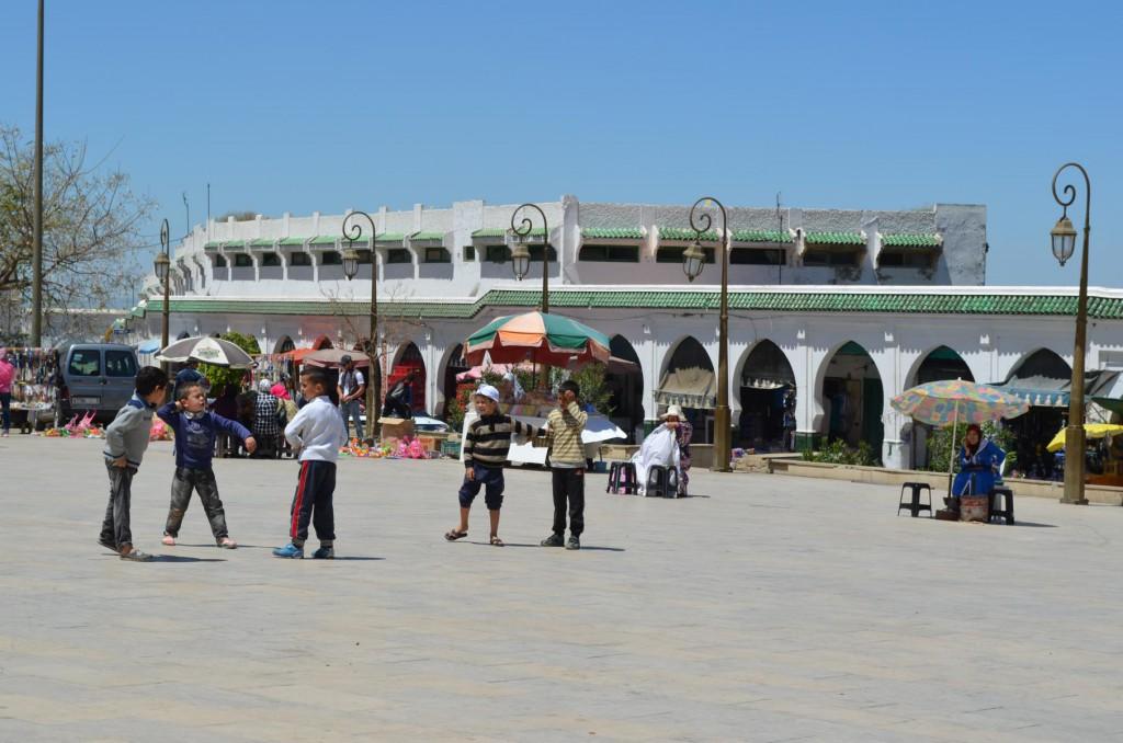 Marktplatz in Moulay Idriss