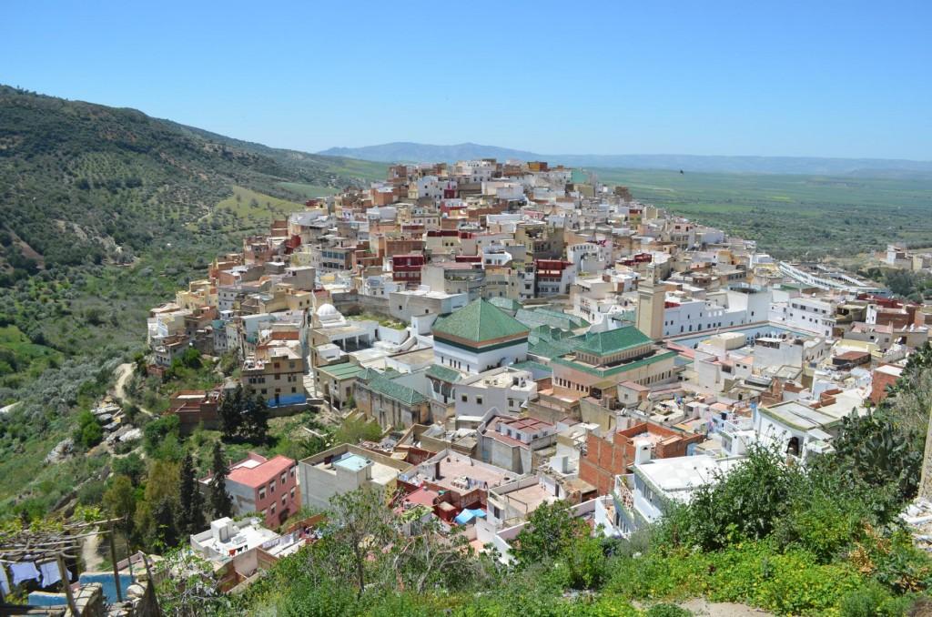 Moulay Idriss: Die Heilige Stadt von Marokkoq