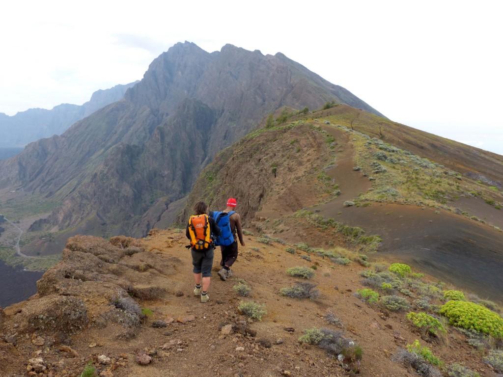 Vulkanwandern auf den Kapverden: Trittsicherheit und Schwindelfreiheit sind Pflicht!