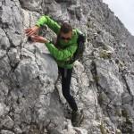 Bike and Hike im Karwendel: Aufstieg zum Kleinen Lafatscher