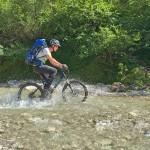Bike and Hike im Karwendel: Mit dem Mountainbike entlang der Isar