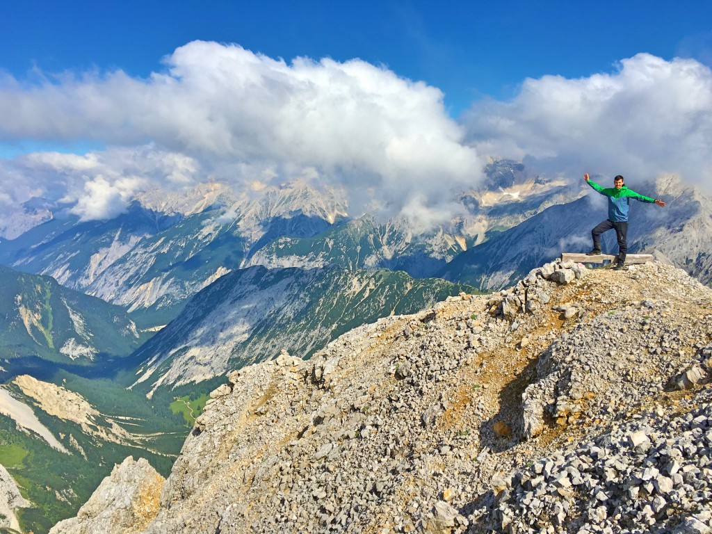 Gipfelglück auf der Speckkarspitze