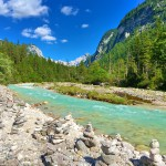 Bike & Hike im Karwendel: Mit dem Mountainbike entlang der Isar