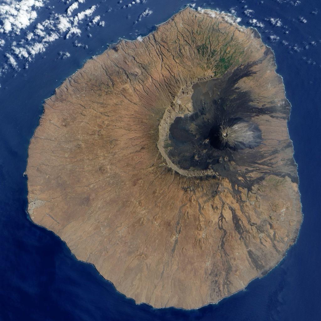 Vulkanwandern auf den Kapverden: Blick von oben