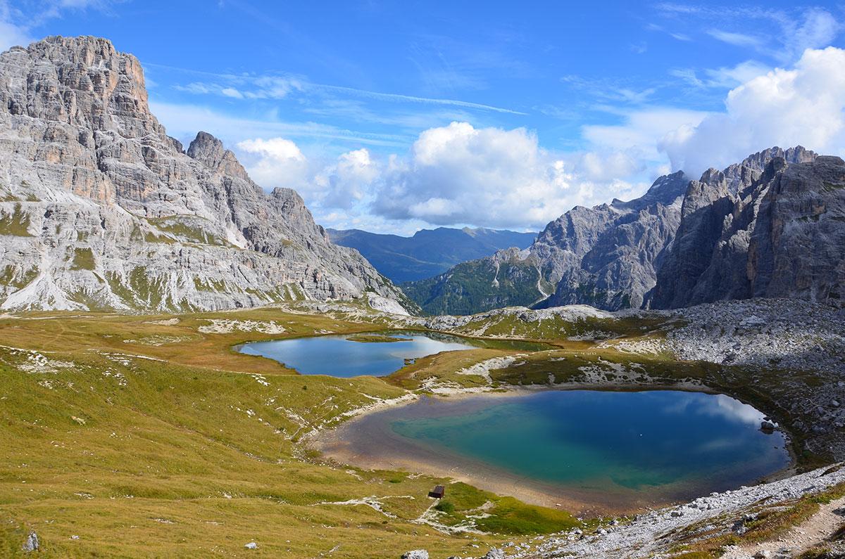 BHüttentour in den Dolomiten
