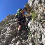 Klettersteige am Wilden Kaiser