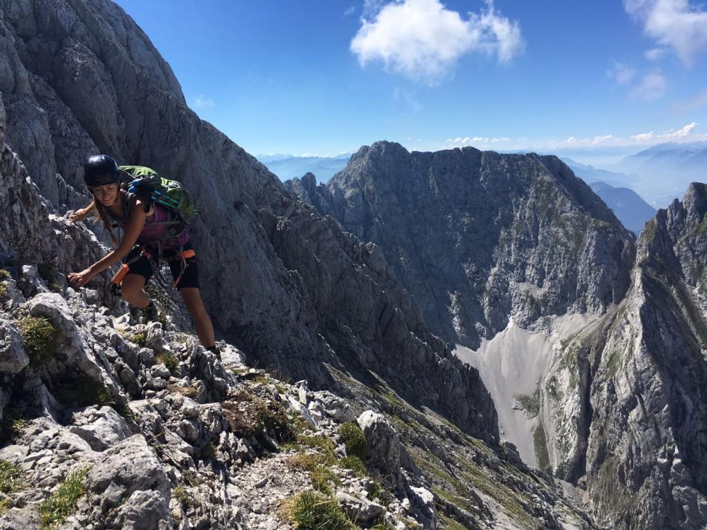 Kaiserschützensteig: Längster Klettersteig im Kaisergebirge