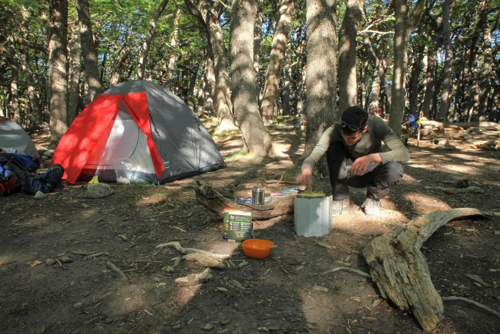 Wanderparadies El Chalten: Camping am Fuße des Monte Fitz Roy