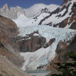 Gletscher Piedra Blancas im Wanderparadies El Chalten