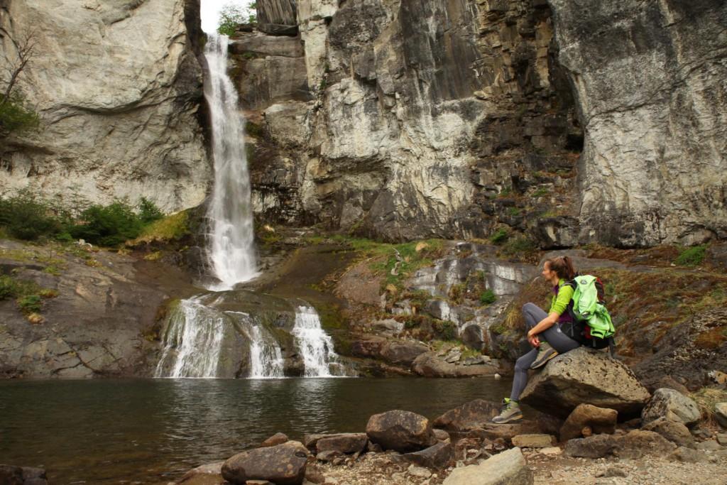 Abseits der gängigen Pfade im Wanderparadies El Chalten: Chorillo del Salto