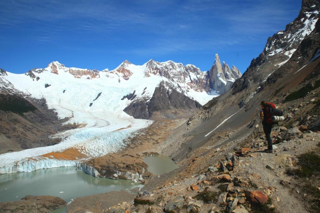 Cerro Torre und Glaciar Torre im Wanderparadies El Chalten