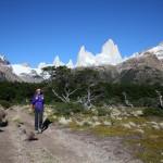 Monte Fitz Roy Umwanderung im Wanderparadies El Chalten